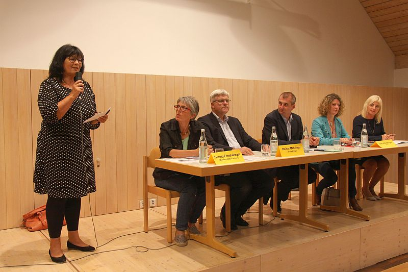 18. September 2018: Podiumsdiskussion im Pfarrheim